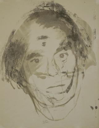 Andy Warhol Self Portrait Screen Print