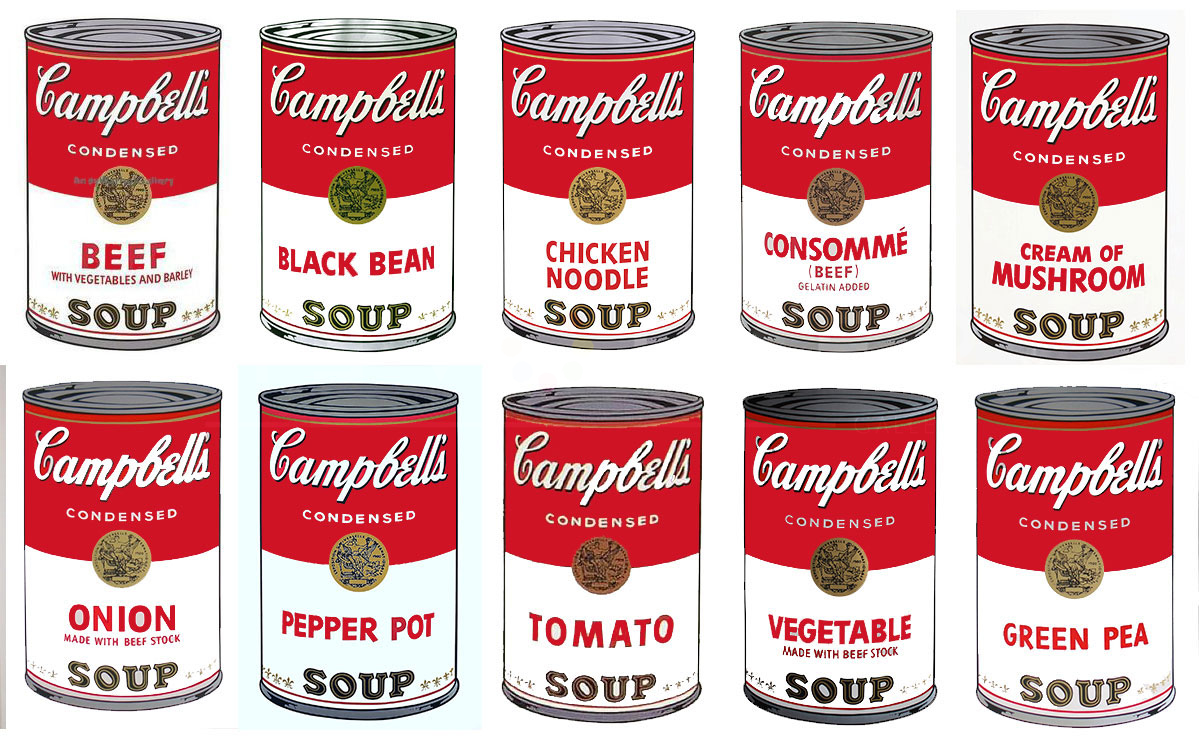 Andy Warhol S Campbell Soup Cans Guy Hepner Art Gallery Prints For Sale Chelsea New York City