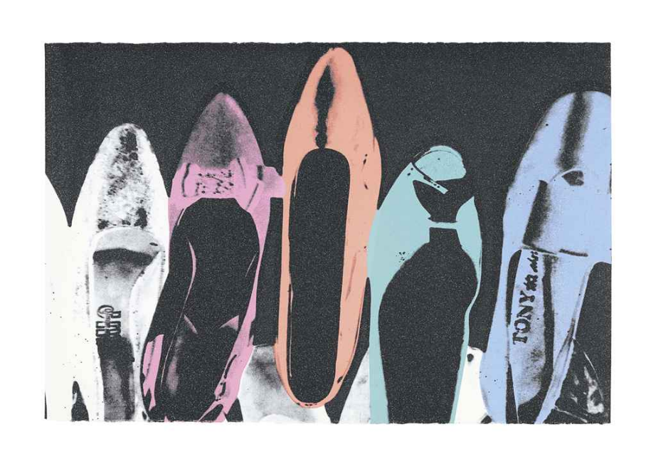 Diamond Dust Shoes Unique by Andy Warhol