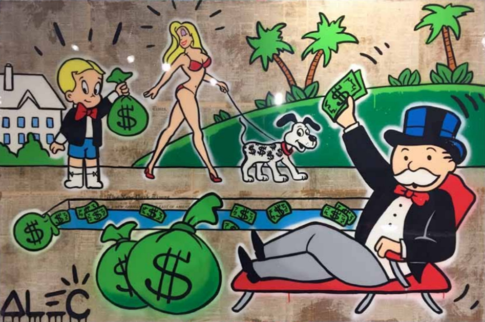 Money Pool by Alec Monopoly