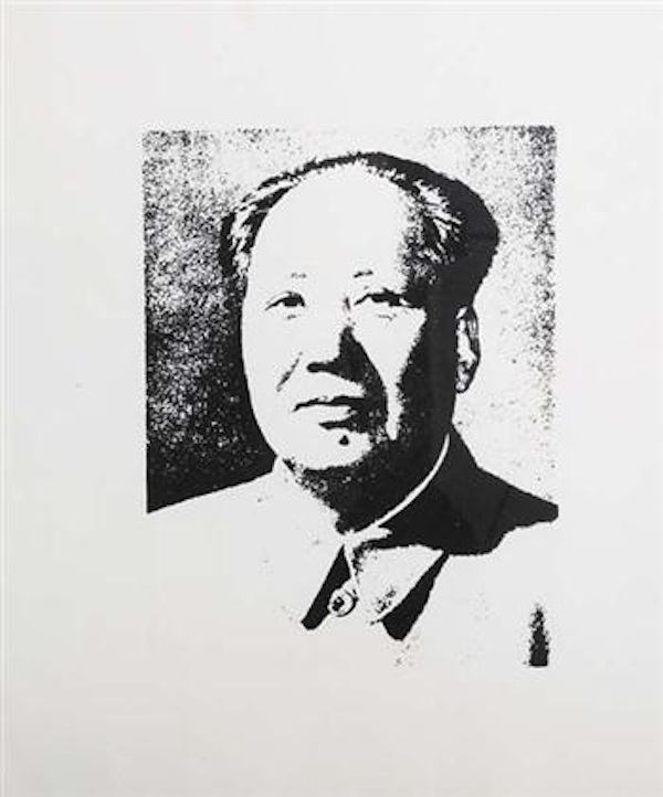 Mao Unique by Andy Warhol