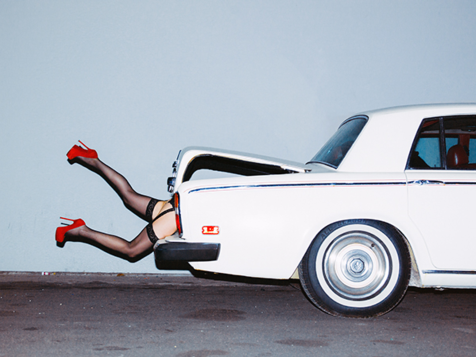 Rumers in the Boot by Tyler Shields