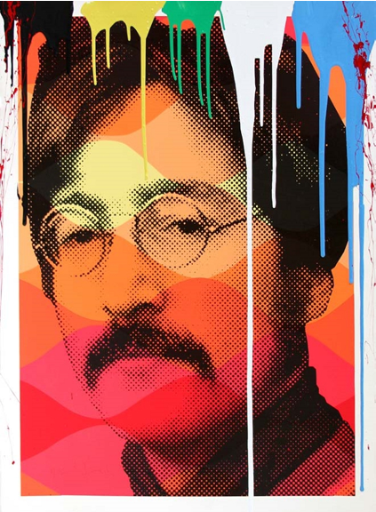 John Lennon by Mr. Brainwash
