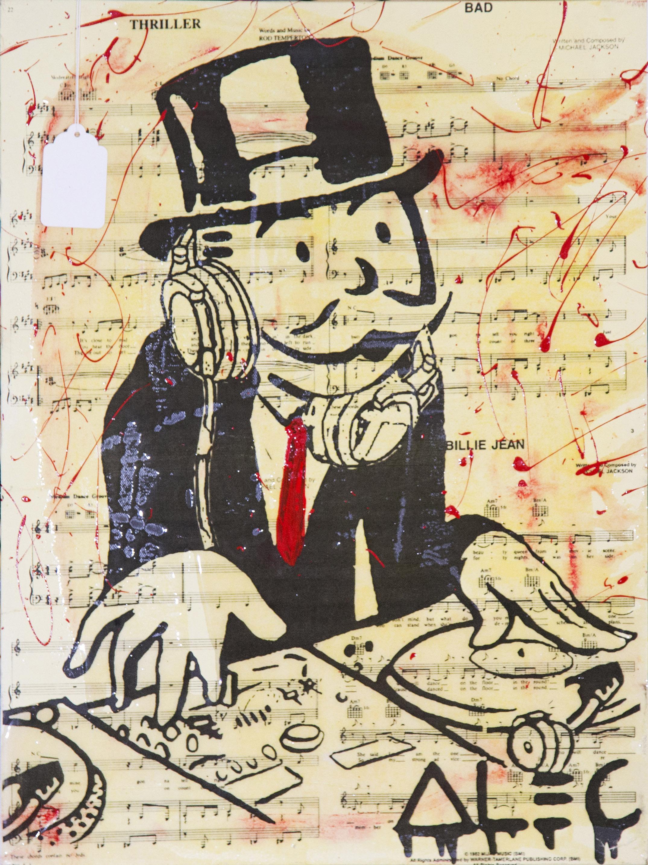 DJ Monopoly by Alec Monopoly