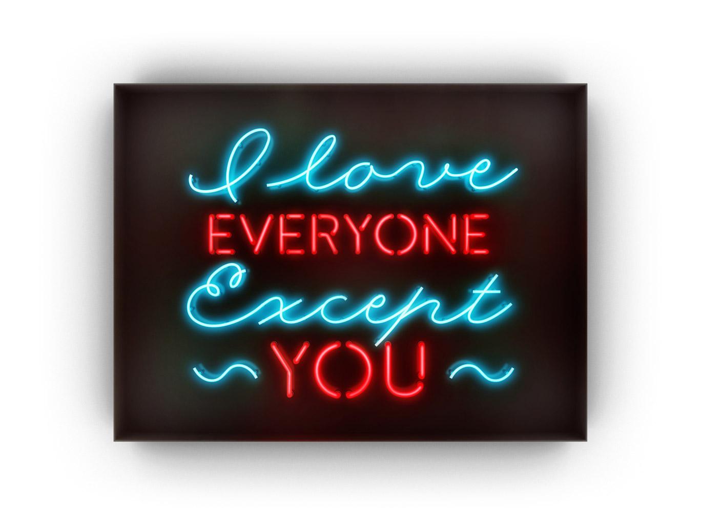 I Love Everybody Except You by David Drebin