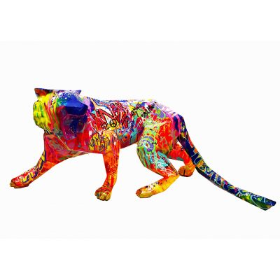 Pop Tiger by Richard Orlinski