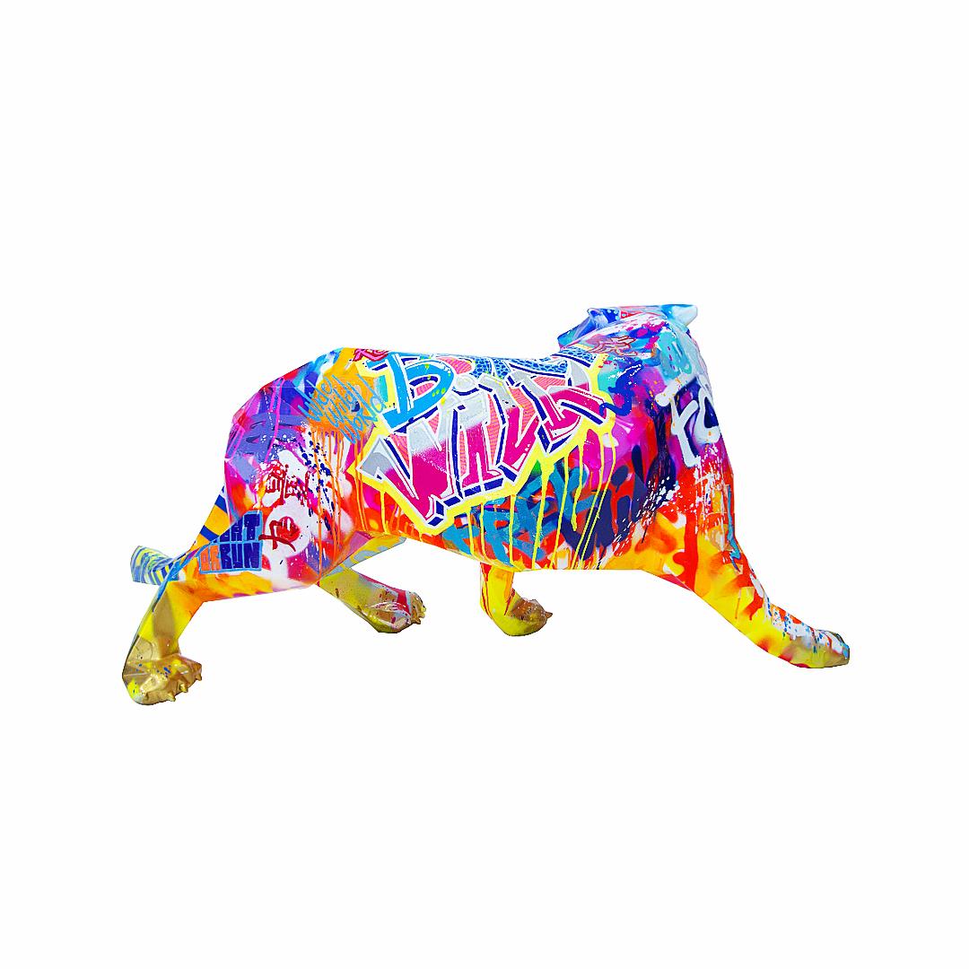 Pop Wild Tiger by Richard Orlinski