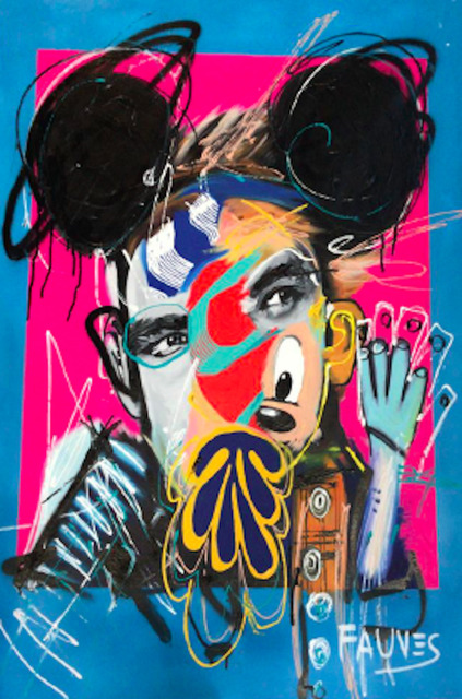 Working Out (Blue) by John Paul Fauves