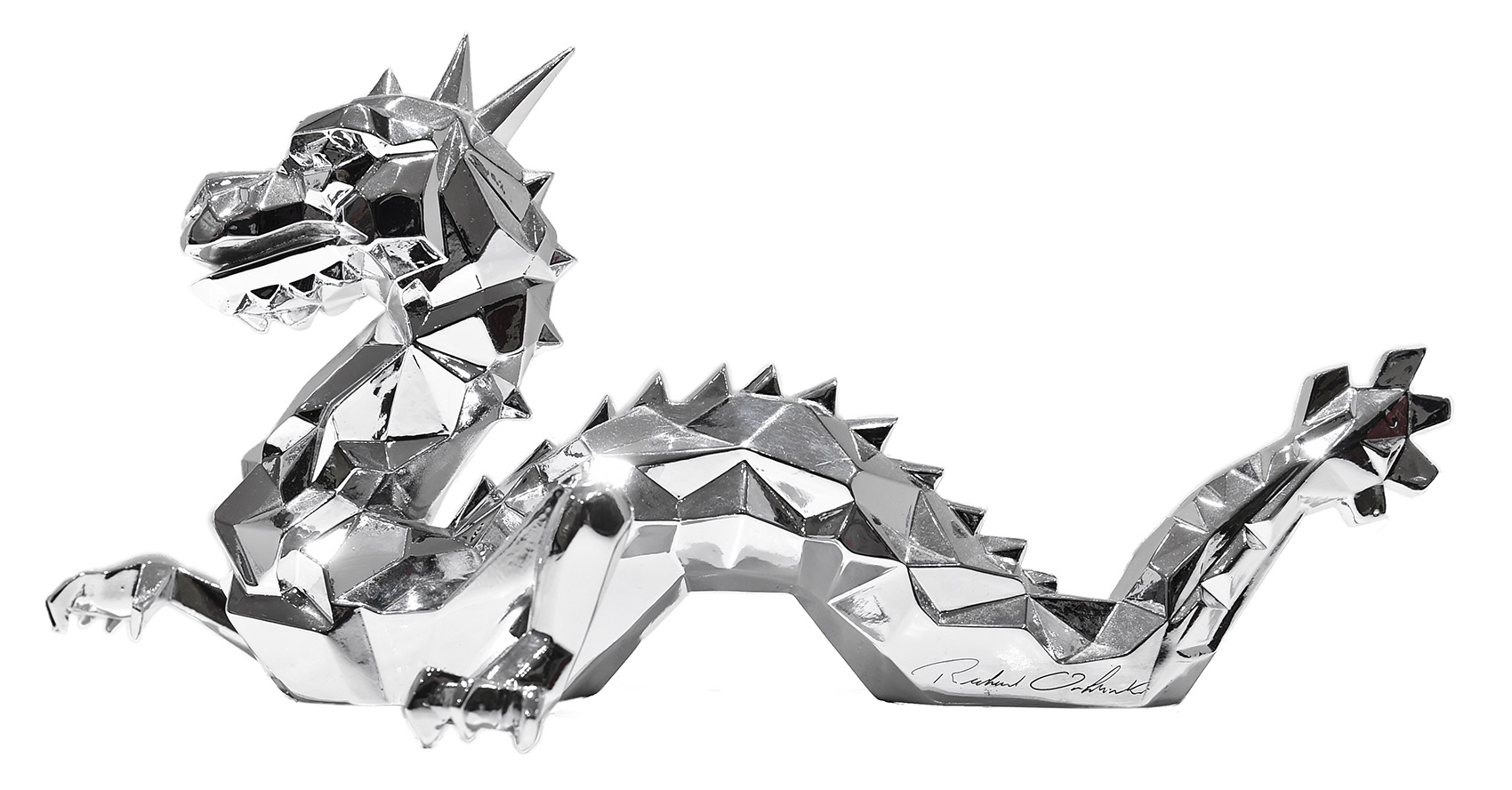 Dragon by Richard Orlinski