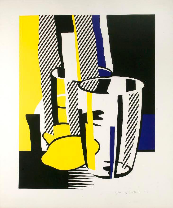 Before the Mirror by Roy Lichtenstein
