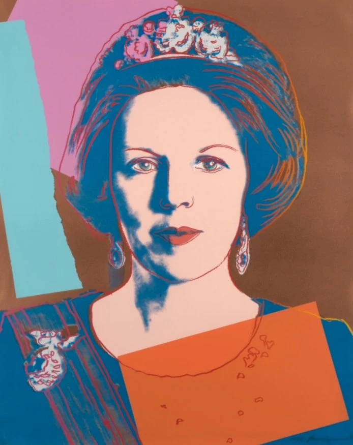 Queen Beatrix of the Netherlands FS II 338 by Andy Warhol