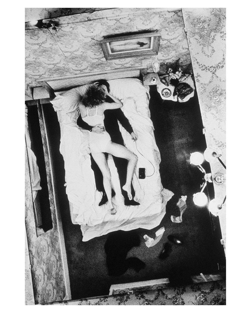 Self Portrait Hotel Bijou by Helmut Newton