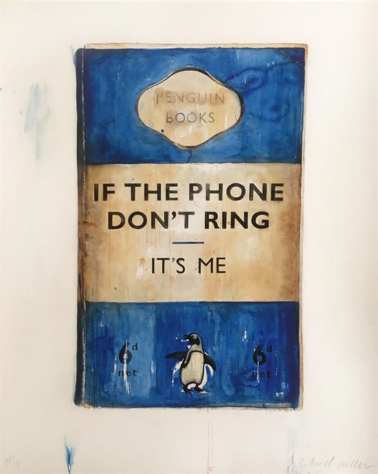 If The Phone Don't Ring By Harland Miller