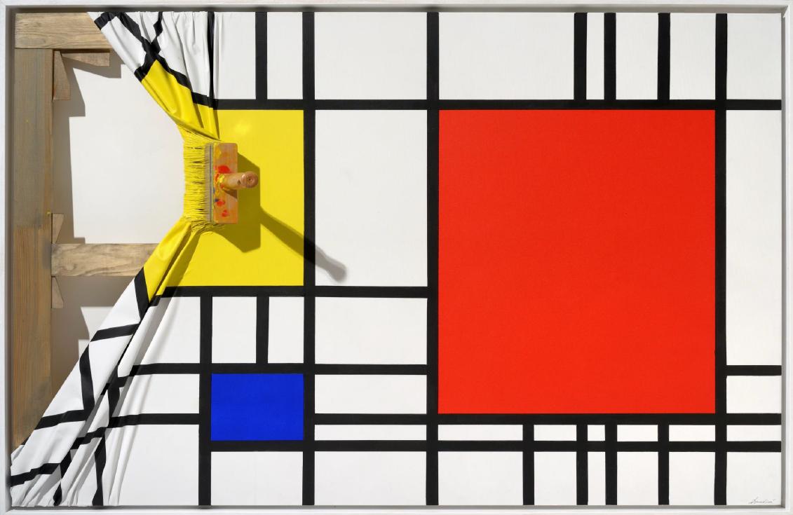 Brosse arretee Juane Mondrian by Jean-Paul Donadini