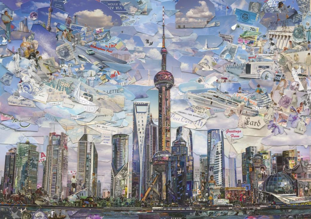 Shanghai Postcard (Postcards from Nowhere) by Vik Muniz