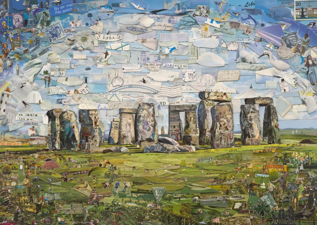 Stonehenge (Postcards from Nowhere) by Vik Muniz