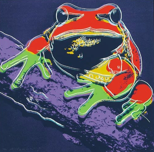 Andy Warhol Pine Tree Frog