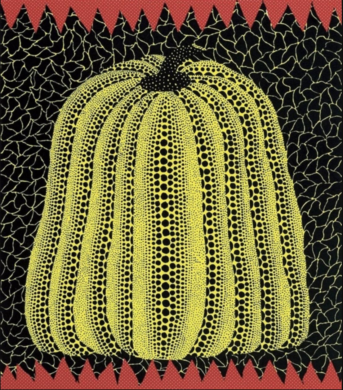 Yellow Pumpkin by Yayoi Kusama
