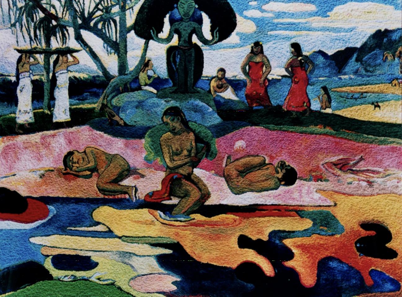 Mahana No Atua (Day of the Gods), After Gauguin by Vik Muniz