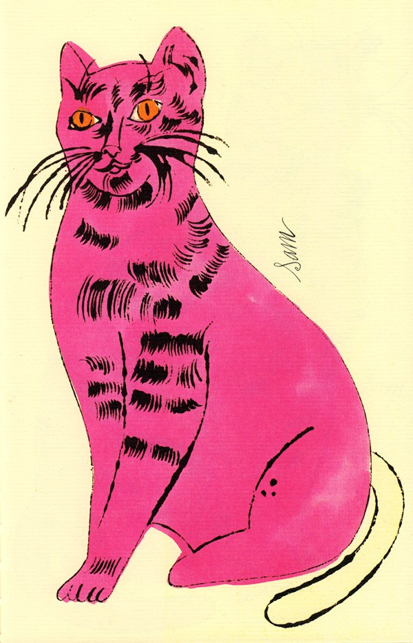 Cats Named Sam IV.51 by Andy Warhol