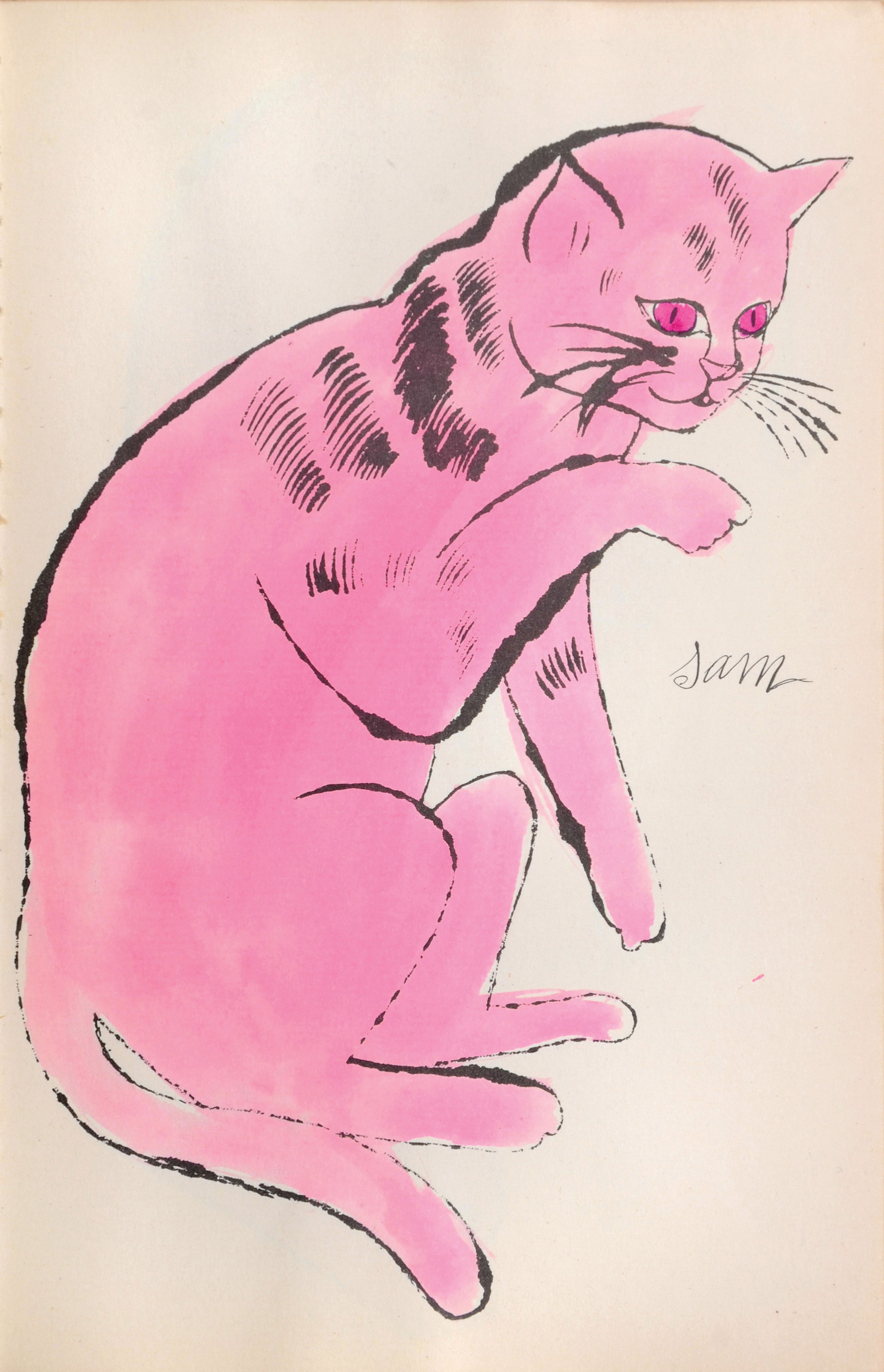 Cats Named Sam IV.64 by Andy Warhol