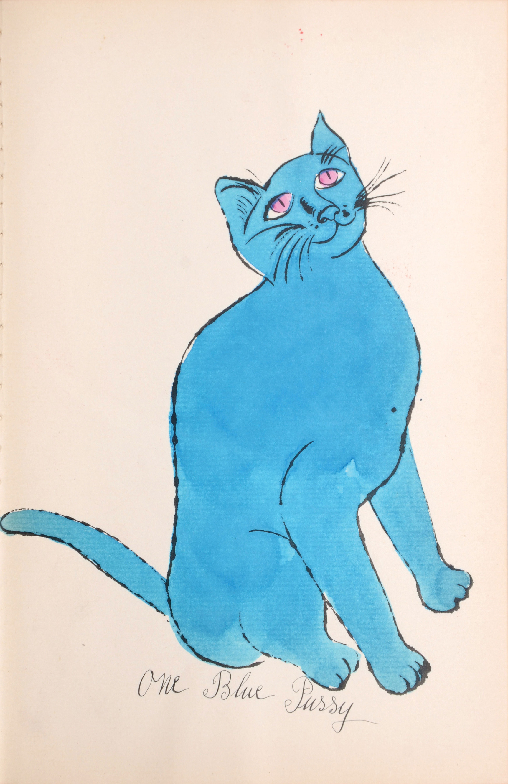 Cats Named Sam IV.68 by Andy Warhol