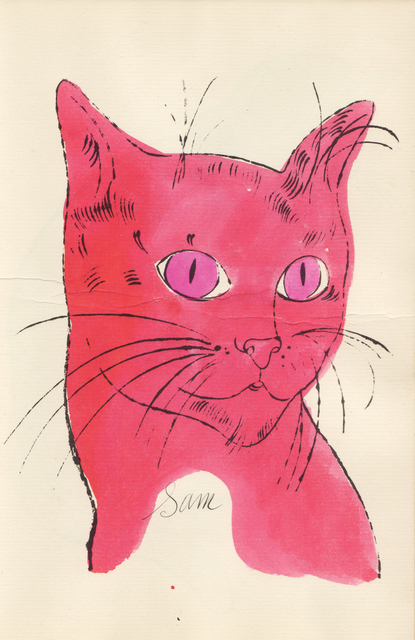 Cats Named Sam IV.63 by Andy Warhol