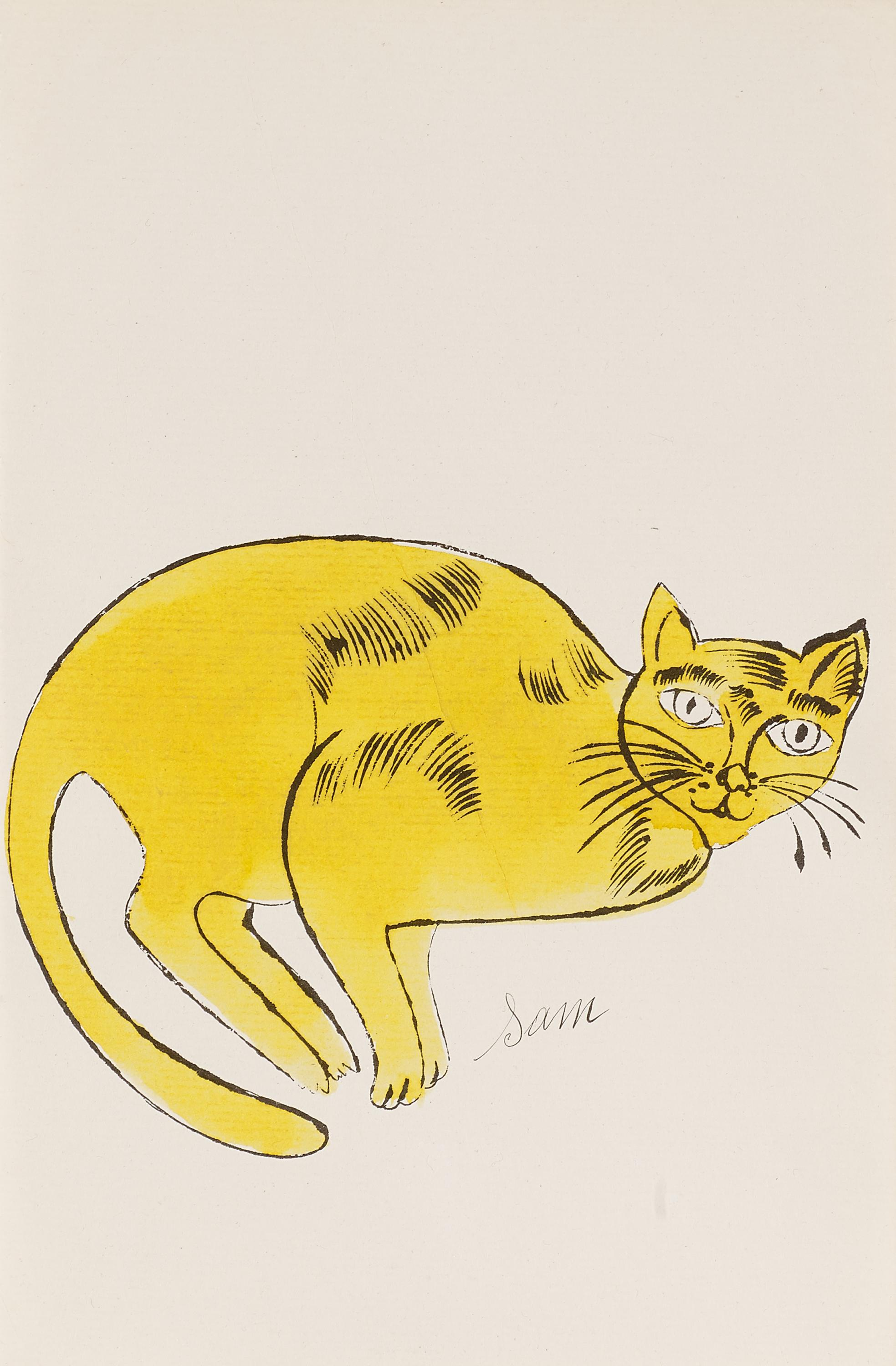 Cats Named Sam IV.67 by Andy Warhol