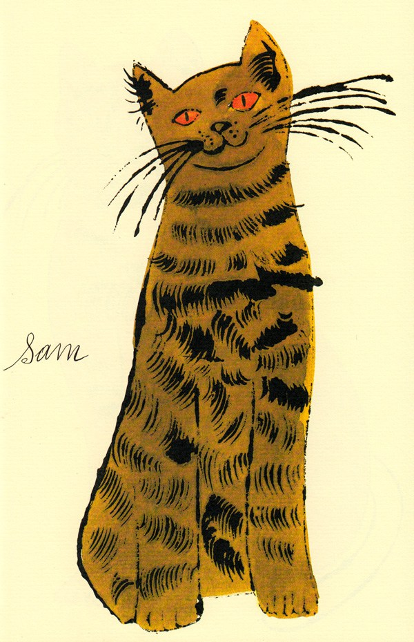 Cats Named Sam IV.54 by Andy Warhol