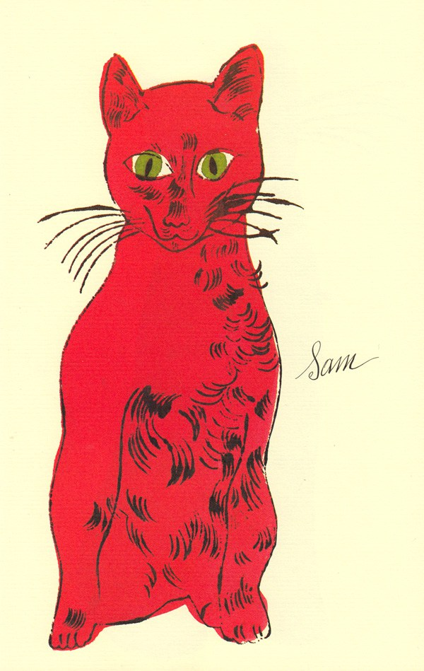 Cats Named Sam IV.53 by Andy Warhol