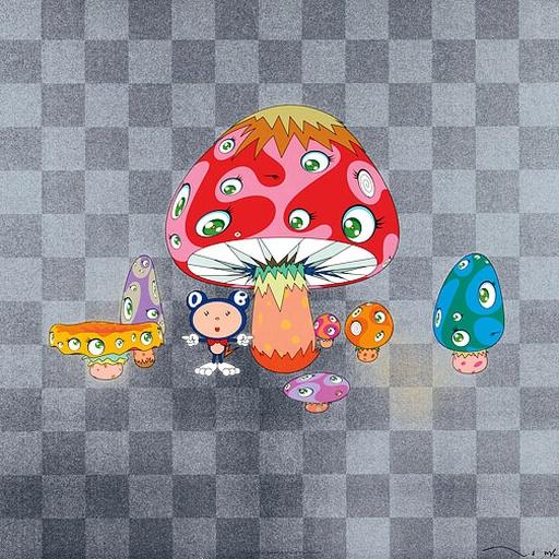 Poke! by Takashi Murakami