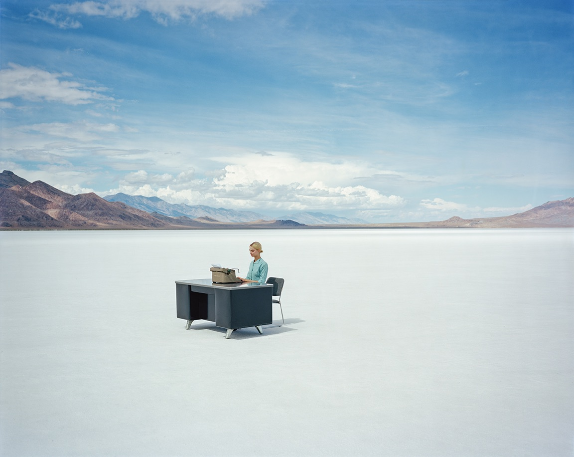 Typewriter by Tyler Shields