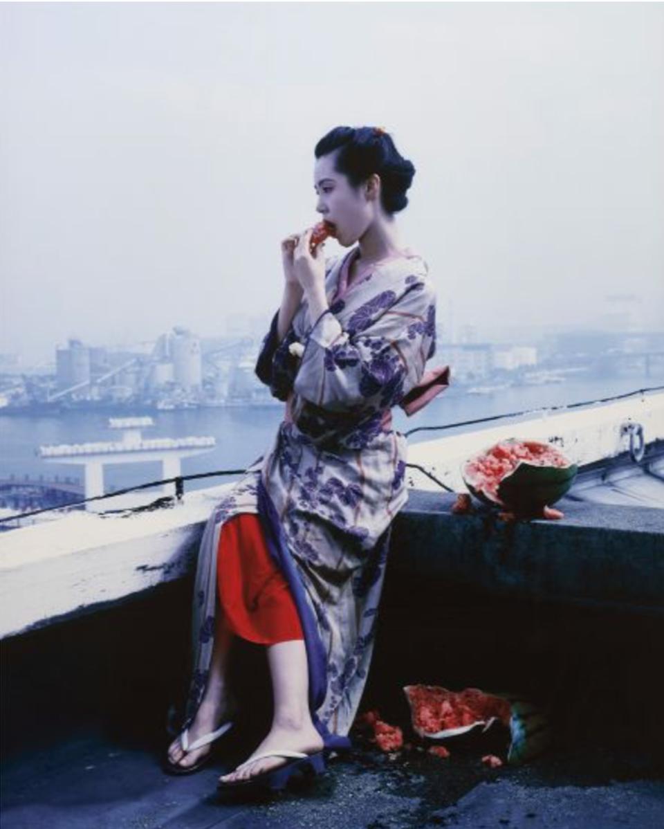 Colourscapes by Nobuyoshi Araki