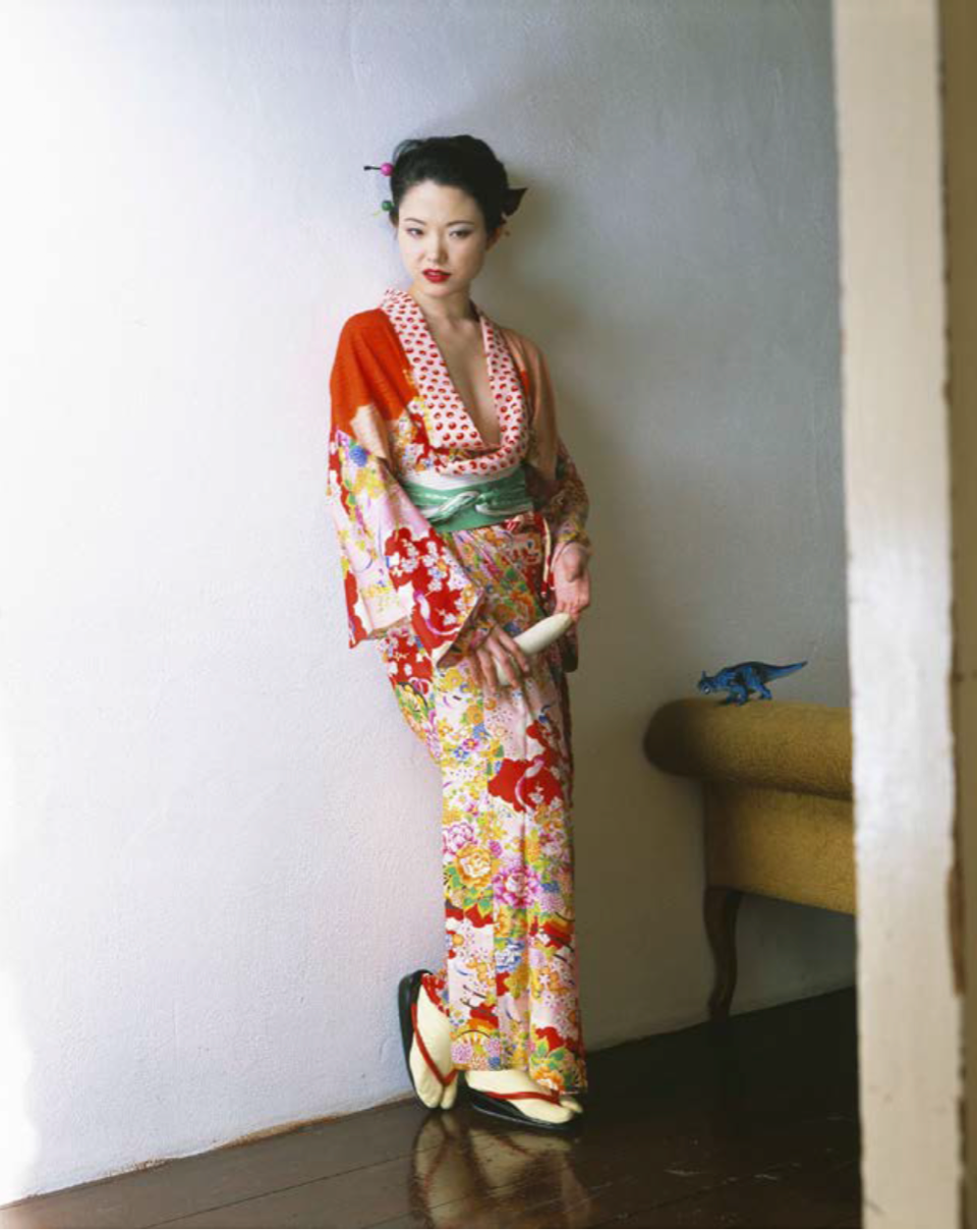 KaoRi Through the Looking Glass by Nobuyoshi Araki