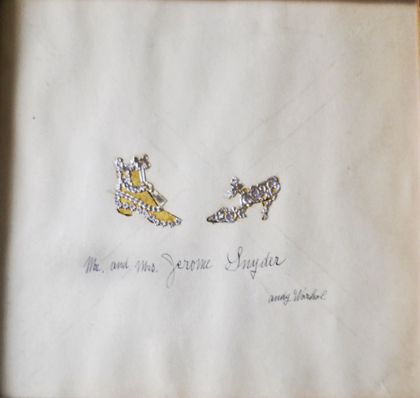 Two Shoes By Andy Warhol