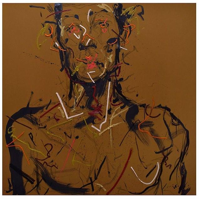 Portrait of no one 4 by Loribelle Spirovski