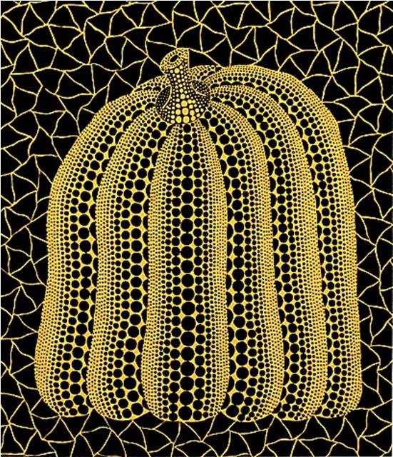 Pumpkin ST by Yayoi Kusama