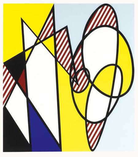 Best Buddies by Roy Lichtenstein