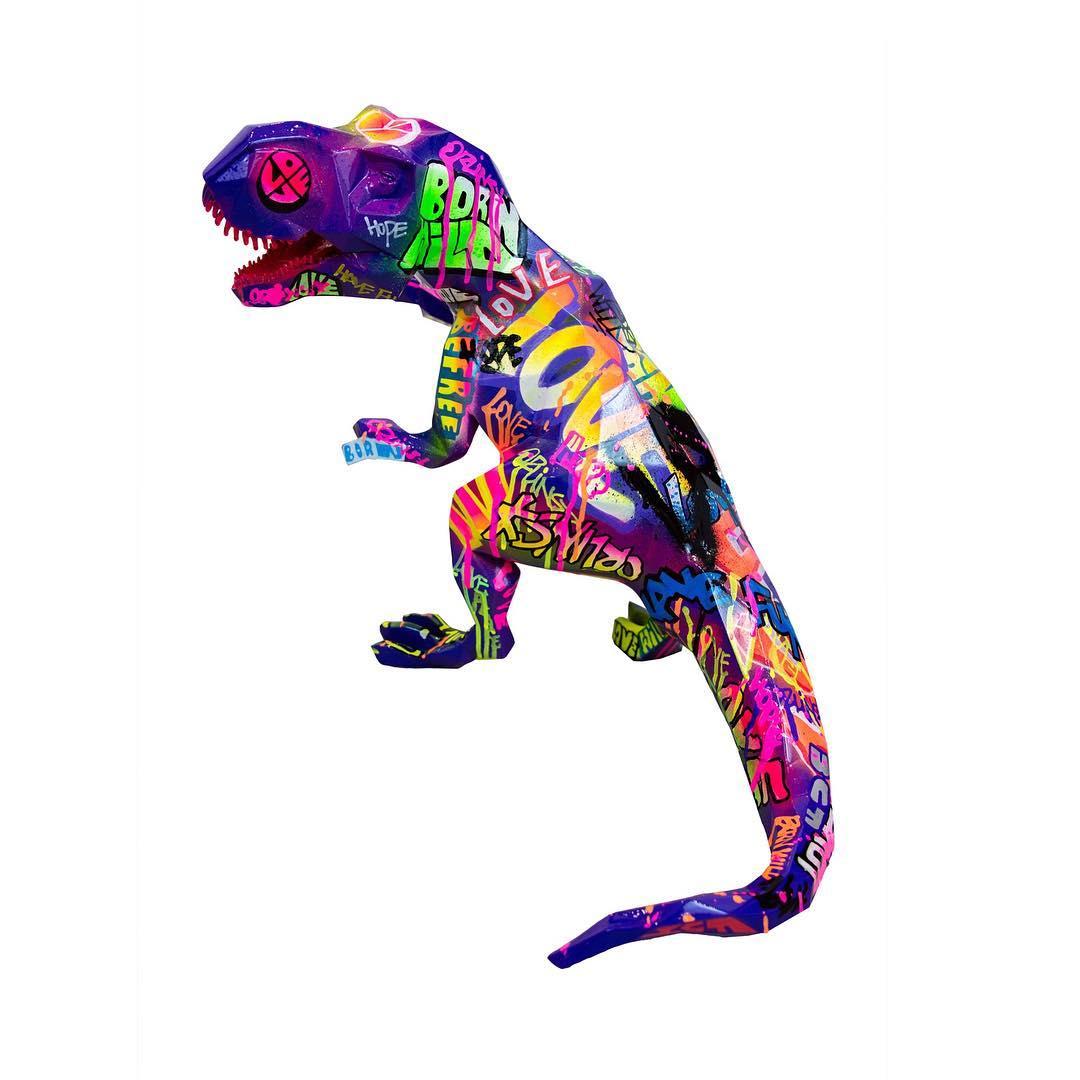 Pop T Rex by Richard Orlinski