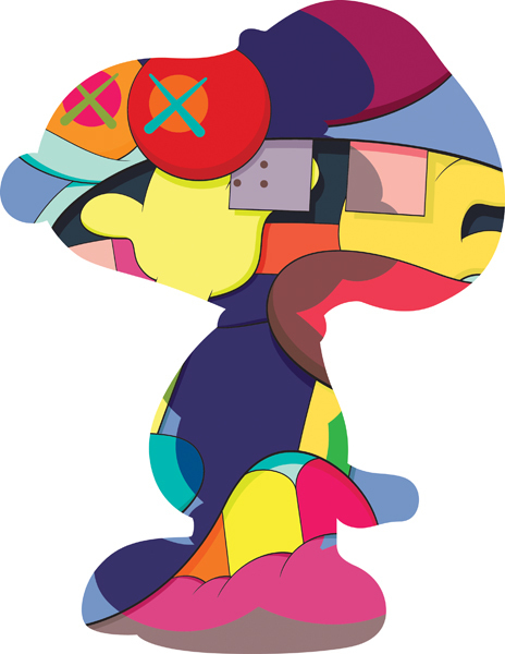 no ones home by kaws