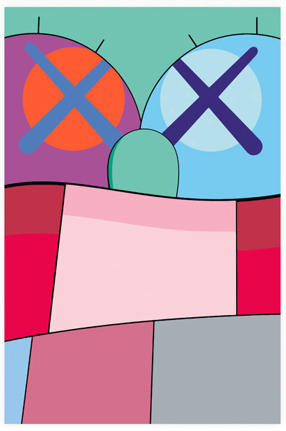 no reply 8 by kaws