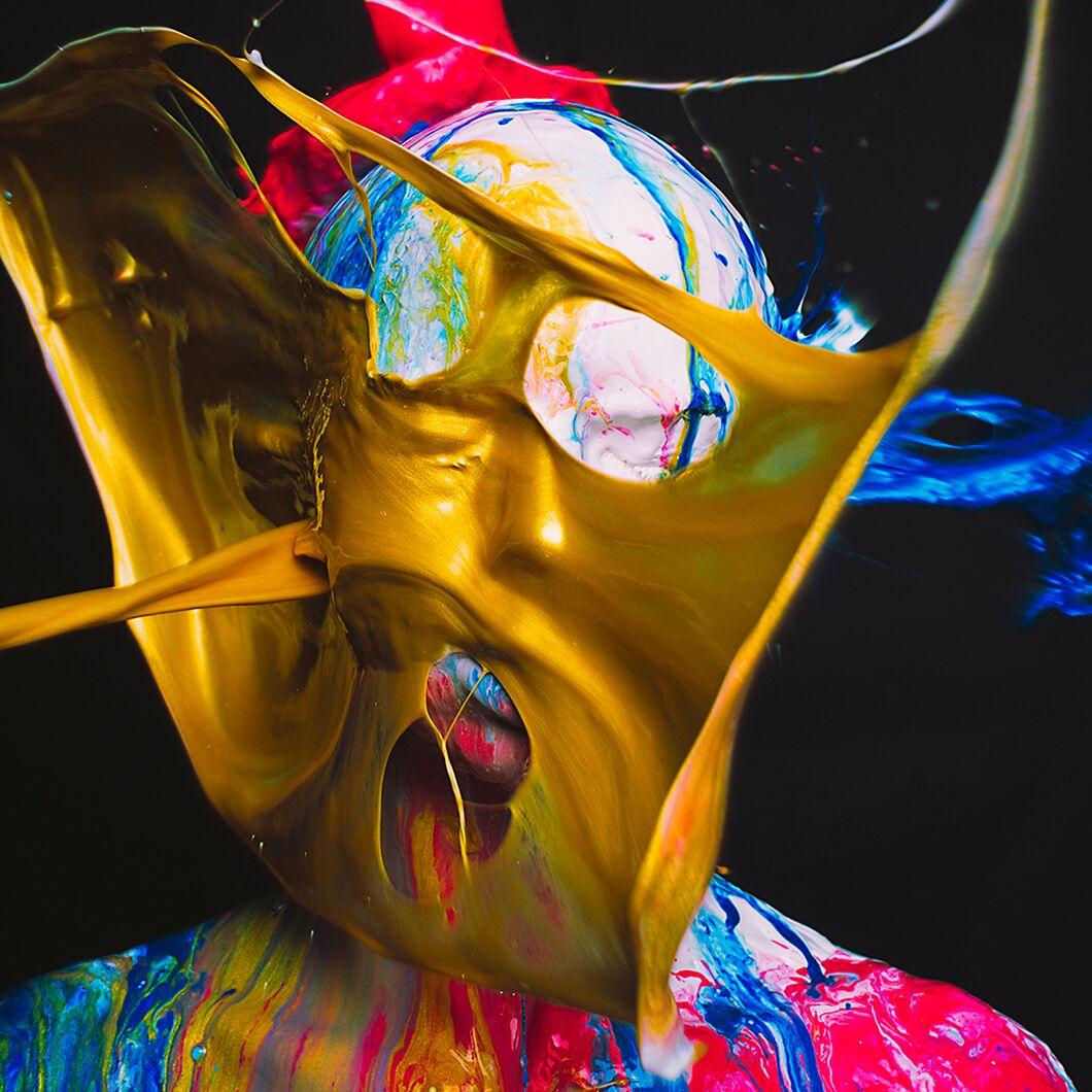 Gold Enamel by Tyler Shields