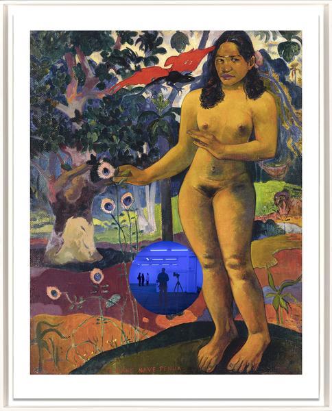 Gazing Ball (Gauguin Delightful Land) by Jeff Koons