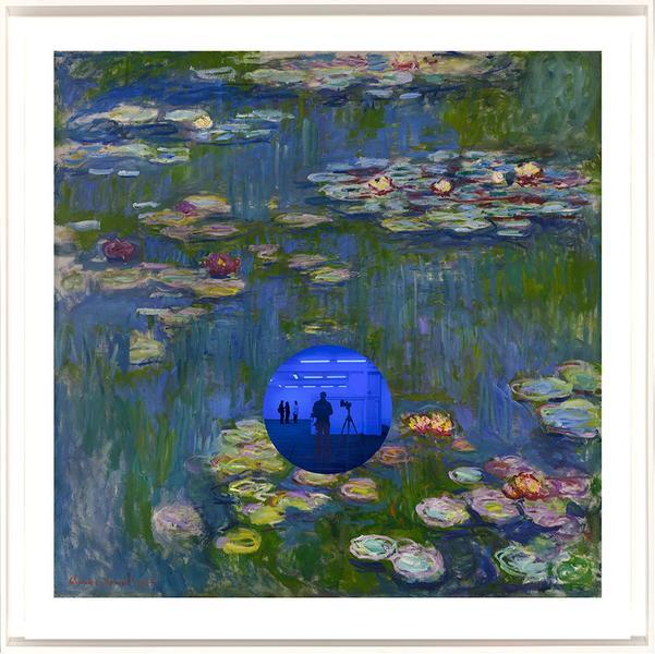 Gazing Ball (Monet Water Lilies) by Jeff Koons