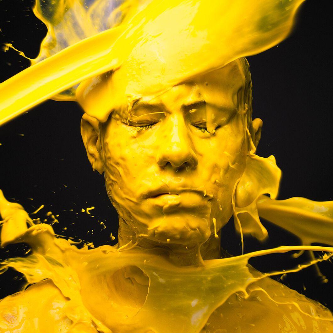 Yellow Portrait by Tyler Shields