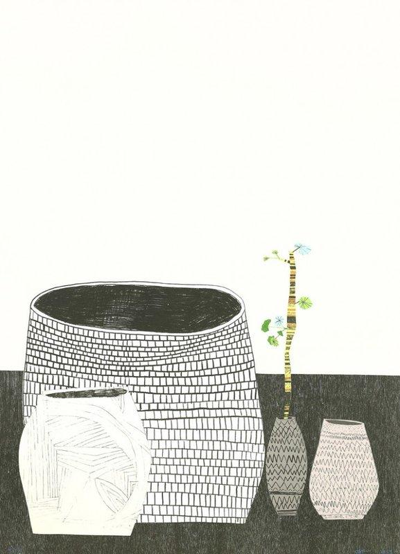 Untitled (Pot, 2009) By Jonas Wood