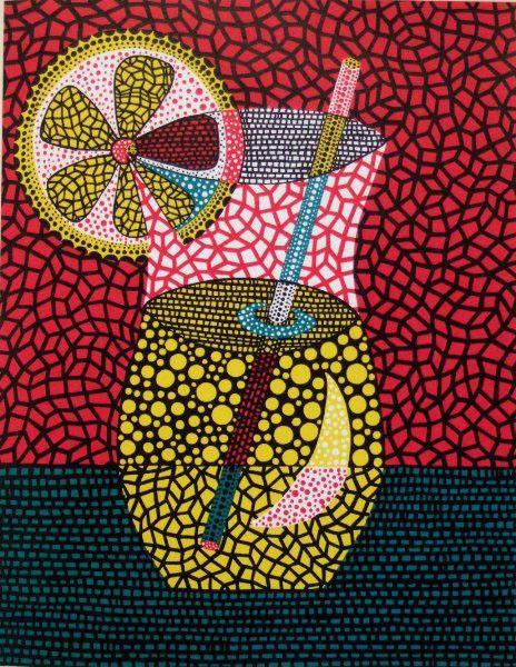 Lemon Squash by Yayoi Kusama