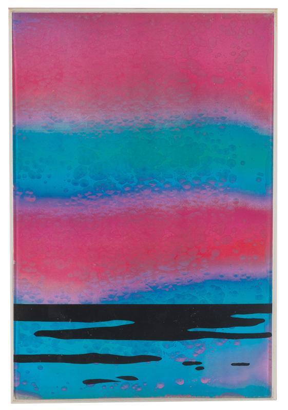 New Seascape By Roy Lichtenstein