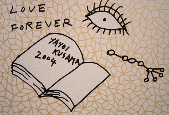 Book to Read at Night A By Yayoi Kusama