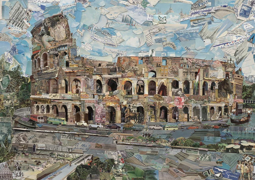 Rome by Vik Muniz